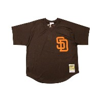 MITCHELL&NESS AUTHENTIC MESH BP JERSEY (SAN DIEGO PADRES 1985/TONY GWYNN/No.19: BROWN)ミッチェル&ネス...