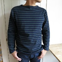 Saint James Ouessant セントジェームス ウェッソン NAVY/PIN