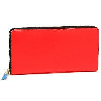コムデギャルソン 財布 COMME des GARCONS SA0110SF SUPER FLUO ZIP AROUND LONG WALLET 長財布 ORANGE