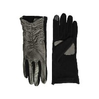 Echo Design Rouched Leather Gloves