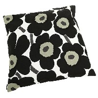 マリメッコ クッションカバー MARIMEKKO 064163 030 PIENI UNIKKO CUSHION COVER BLACK/WHITE