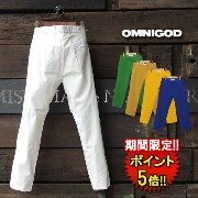 【OMNIGOD】 WEATHER STRECH CROPPED TROUSERS (51-036x) Men's 5color □ 05P01Oct16