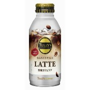 伊藤園・TULLY'S COFFEE BARISTA'S LATTE ボトル缶 370ml×24本
