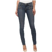 Paige Indio Zip Ultra Skinny in Brett No Whiskers