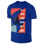 Jordan Retro 7 Blocked T-Shirtメンズ Game Royal/Midnight Navy Tシャツ ジョーダン レトロ7