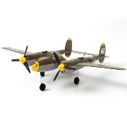 P-38 Lightning Twin 525mm w/Lipoly Battery (DSM2 Compatible)