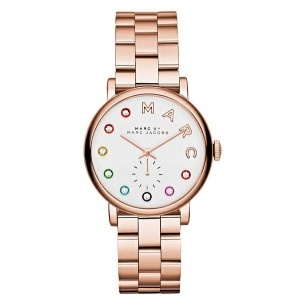 マークジェイコブス 腕時計Women's Baker Dexter Rose Gold-Tone Stainless Steel Bracelet Watch 36mm ベイカー デクスター...