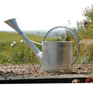 ブリキジョウロ 9L Burgon & Ball(バーゴン&ボール) Waterfall Watering Can galvanised 9 Litre GTW/W9