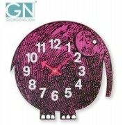 George Nelson ジョージ・ネルソン 壁掛け時計 Zoo Timer Clock エレファント GN904【ポイント10倍】