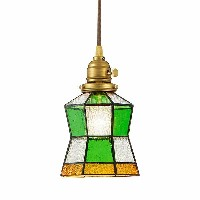 Stained glass-pendant Helm ペンダントライト AW-0372V送料無料 照明 おしゃれ ペンダント ガラス アンティーク 北欧 1灯...