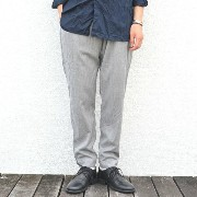 CASEY CASEY(ケーシーケーシー)/ WOOL CASHMERE PANT -LIGHT GREY-