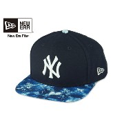 ☆NEWERA【ニューエラ】9FIFTY NEWYORK YANKEES PAINT PLAY TROPICAL ニューヨーク ヤンキース トロピカル キャップ 14696【送料無料】[NBA...