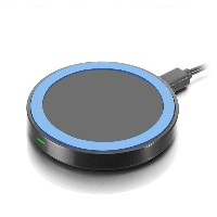 Qi (シングルコイル Qi ワイヤレス充電器) 充電パッド 置くだけ充電 Wireless Charger 無線充電器 iPhone / iPad / Android / Xperia...