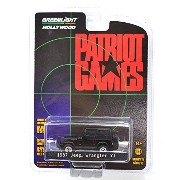 "GREENLIGHT 1:64SCALE HOLLYWOOD ""PATRIOT GAMES"" ""1987 JEEP WRANGLER YJ""(BLACK) グリーンライト 1:64スケール..."