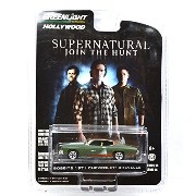 """GREENLIGHT 1:64SCALE HOLLYWOOD """"SUPERNATURAL~JOIN THE HUNT~"""" """"BOBBY'S 1971 CHEVROLET CHEVELLE"""" グリーンライト 1:64スケール ハリウッ..."""