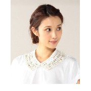 (LL ACCESSORIES)NL125 JEWEL/LACE NECKLACE【ローズバッド/ROSEBUD】