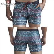 【CLEVER2016-2】 CLEVER クレバー Bantu Swimsuit Trunk Ref,0611 CLEVER スイムパンツ 【男性下着 水着 ボクサー メンズ Men's ショート...