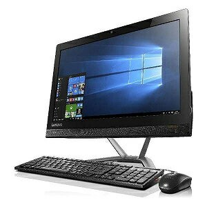 LENOVO 21.5型デスクトップPC[Celeron・HDD 1TB]IdeaCentre AIO 300 F0BX00J3JP <ブラック>(送料無料)
