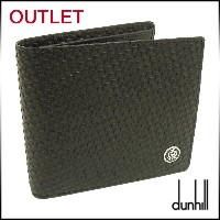 【dunhill/ダンヒル】【OUTLET/アウトレット】L2G332A-OUT-1/財布/二つ折り/小銭入れ付わけあり/一点限り/在庫処分品...