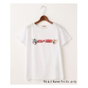 TOM&JERRYロゴTシャツ【ダブルネーム/DOUBLE NAME】