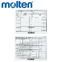 【molten-モルテン】 審判用記録カード 10枚入り 【審判用品/レフリーグッズ】【メーカー取寄せ品】