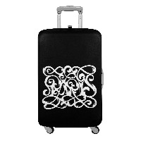 LOQI Luggage Cover TYPE Paris Art Deco