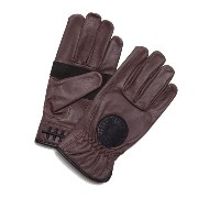 【LOSER MACHINE】ルーザーマシーン【Death Grip Leather Gloves】Brown Ssize【レザーグローブ】グローブ【手袋】バイカー【CHOPPER】チョッパー