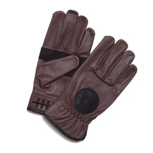 【LOSER MACHINE】ルーザーマシーン【Death Grip Leather Gloves】Brown【レザーグローブ】グローブ【手袋】バイカー【CHOPPER】チョッパー