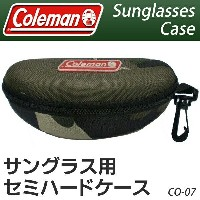 送料無料! Coleman【正規品】コールマン サングラス用 ハードケース ベルト通し&フック付き 【検索: CO-07 偏光サングラス ゴーグル 小物入れ スポーツ レジャー 釣り スノボ...