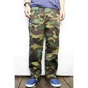 ガンホーGUNG HO#1050P WOODLAND 4POCKET FATIGUE PANT(COLOR : W.CAMO No1)【05P03Sep16】【RCP】