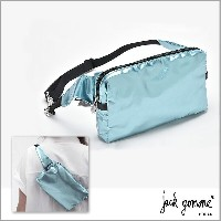 JACK GOMME ジャック ゴム jack gomme ボディバッグ POLAIRE色 メタリック ライトブルーBLOOM-POLAIRE 国内 送料無料 バガー...