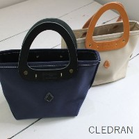 CLEDRAN (クレドラン)the craft factorvTRIANGLE TOTE S 2color made in japancft-1017-d