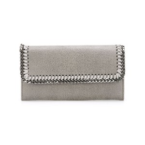 Stella McCartney - Shaggy Deer Falabella 財布 - women - ポリエステル - ワンサイズ