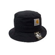 Carhartt WIP WATCH BUCKET HAT (BLACK)カーハート/ハット/黒