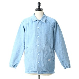 【SALE/セール】MAGIC STICK(マジックスティック) / FISH TAIL DENIM COACH JKT -90s FADE BLUE without BACK PRINT- ...