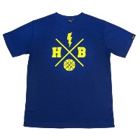 HXB 【X OVER T-SHIRT】 NAVY