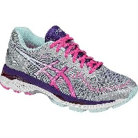 (取寄)アシックス レディース Gel-Kayano 23 ランニングシューズ Asics Women Gel-Kayano 23 Running Shoe Silver/Pink Glow...