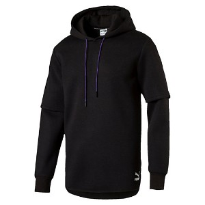 プーマ EVO LAYER TOP HOODY メンズ Puma Black