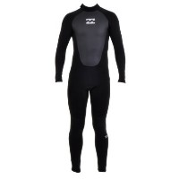 NEW【Billabong】【ビラボン】【ウェットスーツ】Billabong Foil 5/4mm BACK ZIP Wetsuit in BLACK
