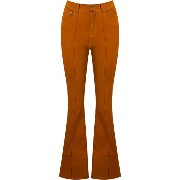 Amapô high waist flared trousers