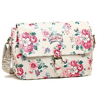 キャスキッドソン バッグ CATH KIDSTON 594455 FOREST BUNCH SMALL SADDLE BAG FOREST BUNCH ショルダーバッグ STONE