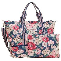キャスキッドソン バッグ CATH KIDSTON 593762 FOLDAWAY DOUBLE DECKER TRAVEL BAG WORTH BUNCH ショルダーバッグ 2WAYバッグ NAVY