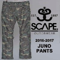 16-17 SCAPE JUNO PANTS/SCAPE スノーボードウェア/SCAPE ウェア レディース/SCAPE ウエア レディース/SCAPE パンツ/エスケープ ウェア/エスケープ...