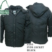 SIERRA DESIGNS (シエラデザインズ) INYO JACKET BLACK 8301
