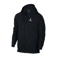 Jordan Flight Fleece Full Zip Hoodieメンズ Black/White パーカー ジョーダン