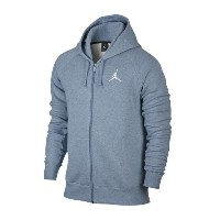 Jordan Flight Fleece Full Zip Hoodieメンズ Blue Grey Heather/White パーカー ジョーダン