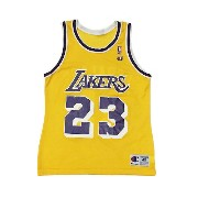 【CHAMPION】NBA LAKERS CEBALLOS BASKETBALL JERSEY [YELLOW:M(40)]/チャンピオン