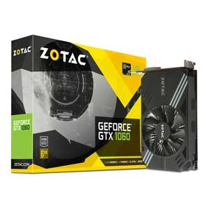 ZT-P10600A-10L【税込】 ZOTAC PCI-Express 3.0 x16対応 グラフィックスボードZOTAC Geforce GTX 1060 6GB Single Fan ...