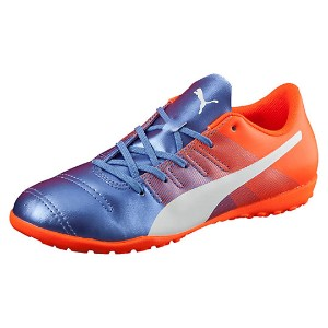 プーマ エヴォパワー 4.3 TT JR ユニセックス Blue Yonder-Puma White-Shocking Orange