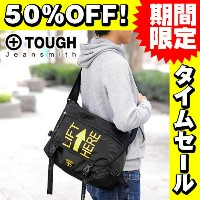 【50%OFFセール】【在庫限り】タフ TOUGH!ショルダーバッグ 【LIFT HERE/リフトヒア】 57743 メンズ ギフト 斜めがけバッグ 誕生日プレゼント 男性 【送料無料】 プレゼント...